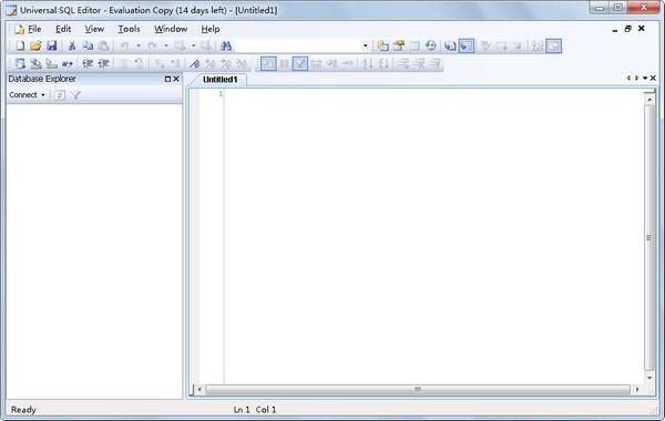 Universal SQL Editor(数据库工具) V1.6.4.2 英文版