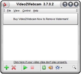 Video2Webcam(虚拟摄像头) V3.7.0.2 英文版