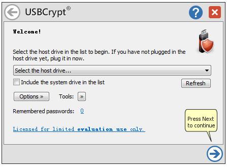 USBCrypt(U盘加密工具) V16.10