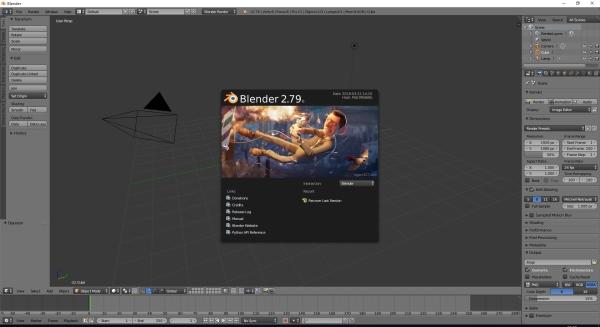 Blender(3D建模工具)V2.79 绿色便捷版