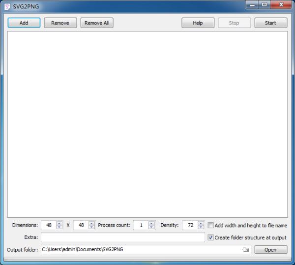 SVG2PNG(SVG转PNG工具)V1.1.81 官方版
