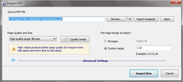 eFlip Standard(翻页书创建工具) V4.3.4 官方版